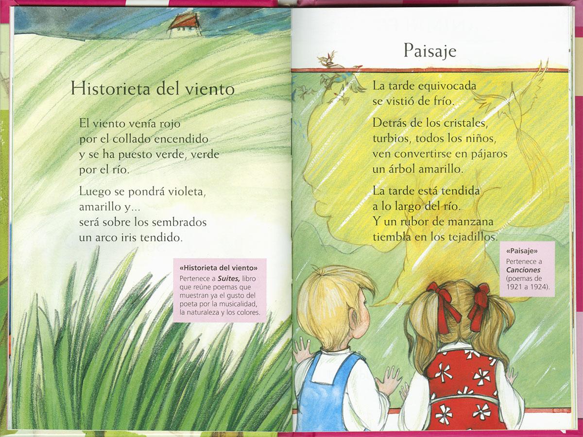 Federico García Lorca Poemas Leer Con Susaeta